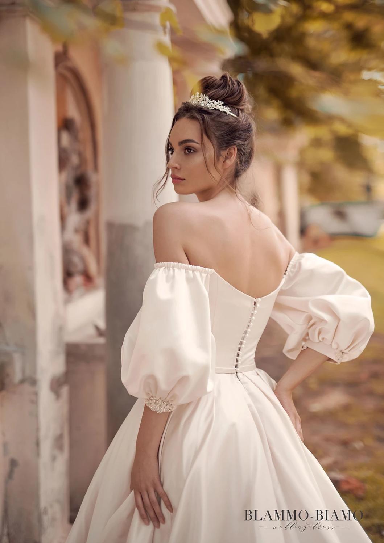 Blammo-Biamo kāzu kleitas
