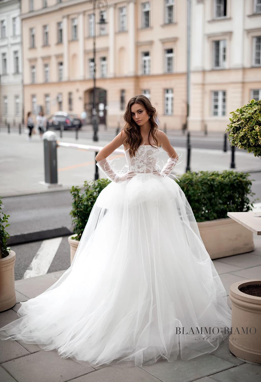 Blammo-Biamo kāzu kleita